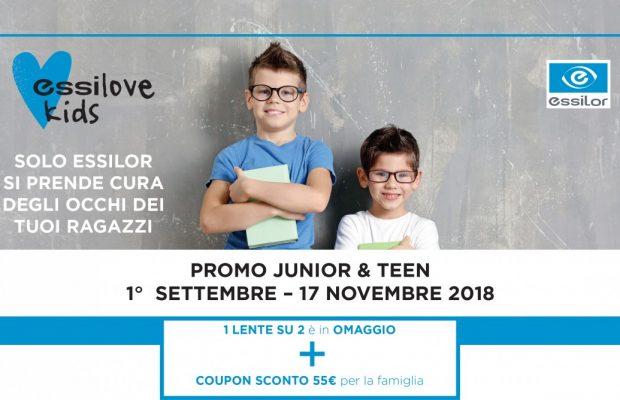Promo Junior e Teen - Ottica Virano - None Orbassano - sconti per occhiali per bambini e ragazzi