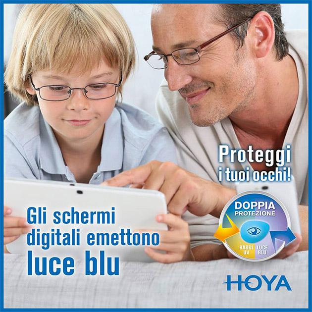 Ottica virano vision ottica Orbassano None lenti antiluce blu 3