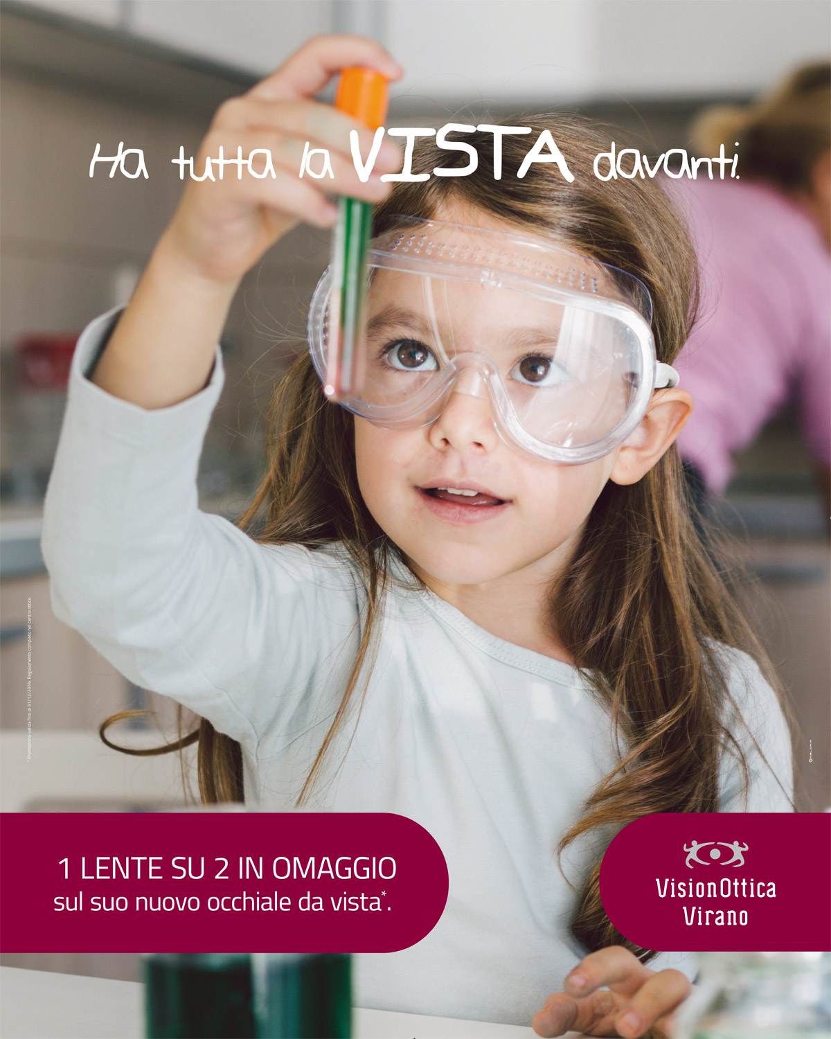 Back to school - promozione lente in omaggio per bambini - ottica virano orbassano none